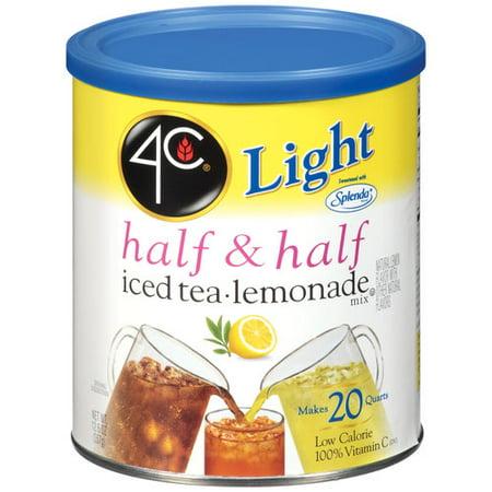 4C Half & Half Iced Tea & Lemonade Mix, 12.6 oz