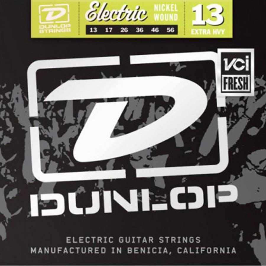 Dunlop - DEN1356 - Nickel-Plated Steel Ultra Heavy Electric Guitar 6-String Set - .013-.056