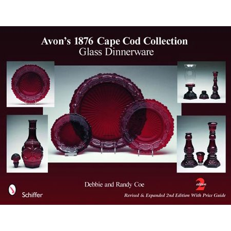 Avon's 1876 Cape Cod Collection : Glass Dinnerware (Avon Cape Cod Ruby Glass)