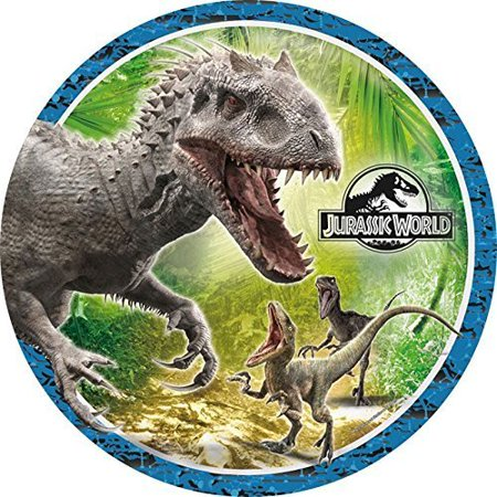 Jurassic World Dinosaur Edible Image Photo Cake Topper Sheet Birthday Party