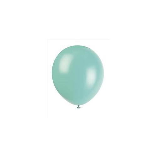 Unique Industries 5175 15 count 12 inch Balloons in Seafoam Aqua - 144 Packs