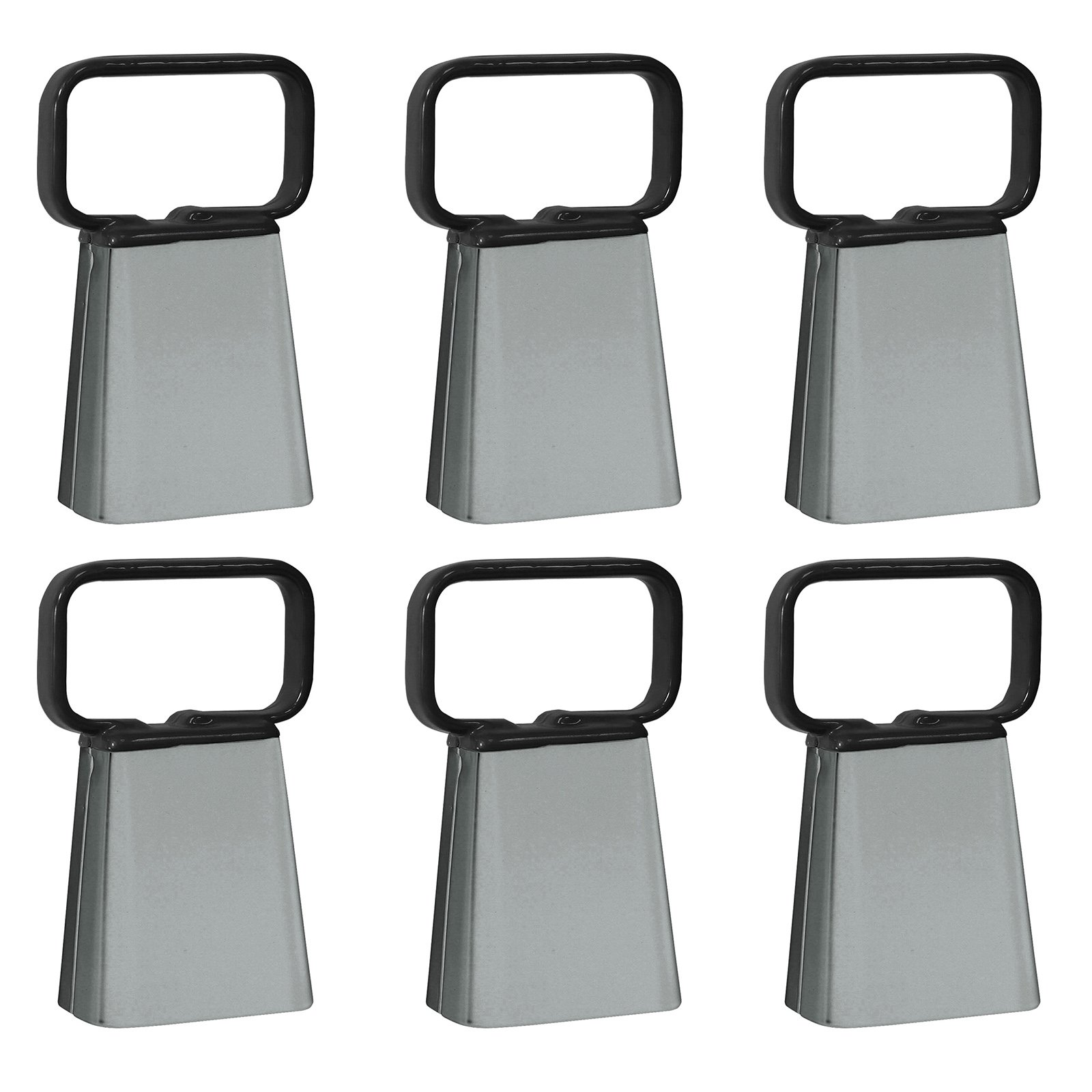 Buffalo Customizable Cowbell with Easy Grip Handle, 6-Pack by Buffalo Corp