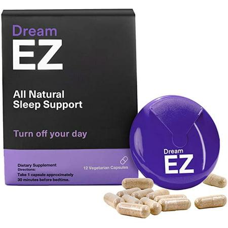 Dream EZ Melatonin 10mg Extra Strength, Sleep Vitamin, Valerian, Lemon Balm, Insomnia Relief | 36 CT - image 1 of 11