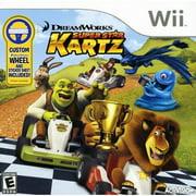 Dreamworks Super Star Kartz with Wheel - Nintendo Wii