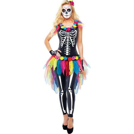 Adult Celebrity Day of the Dead Costume - 2017 Best Halloween Costumes Celebrity