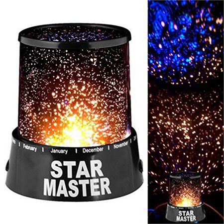 Starry Night Light Projector, LED Starry Night Star Lamp Projector Galaxy, Sky Projector Lamp Star Light Cosmos Master Kids Gift Indoor Lighting Master Lamp Memory System