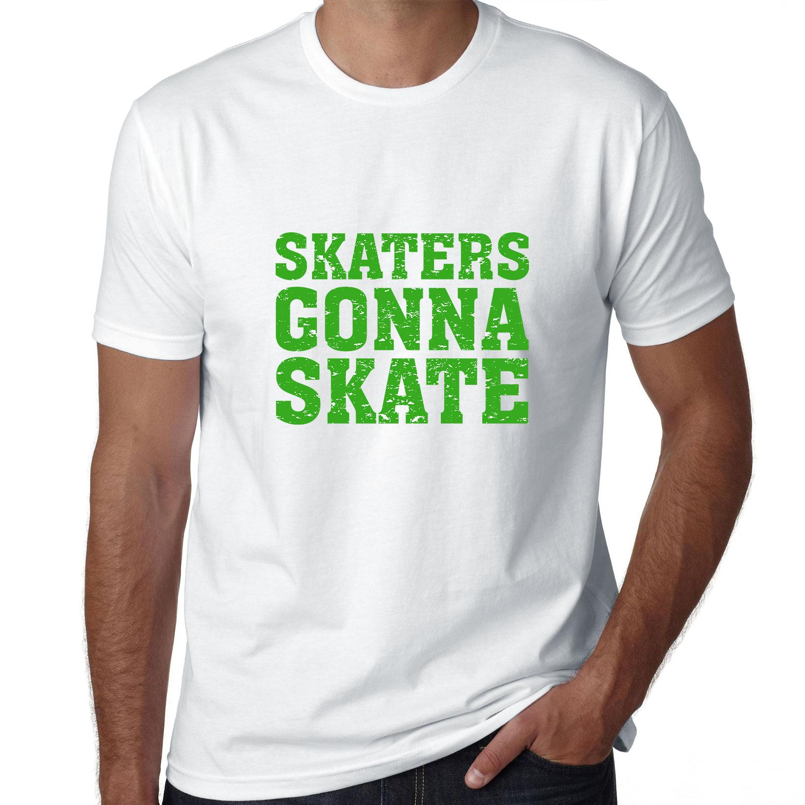 Hip Skaters Gonna Skate Men's T-Shirt by Hollywood Thread