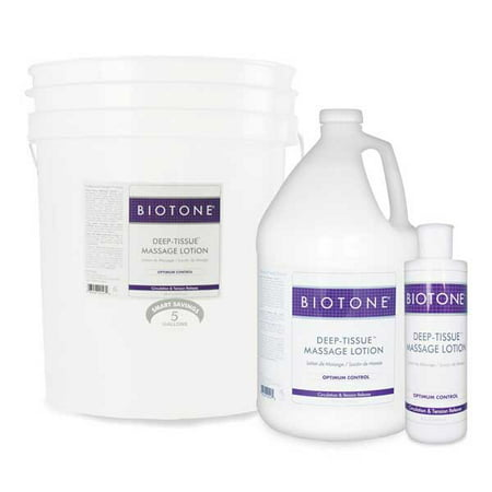 Biotone Massage - Biotone Deep-Tissue Massage Lotion - 1/2 Gallon