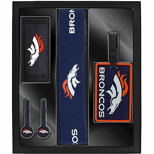 Aminco Sports 5-Piece Travel Box Set, Broncos
