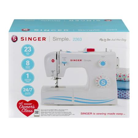Singer Simple 23 Stitch Sewing Machine 2263