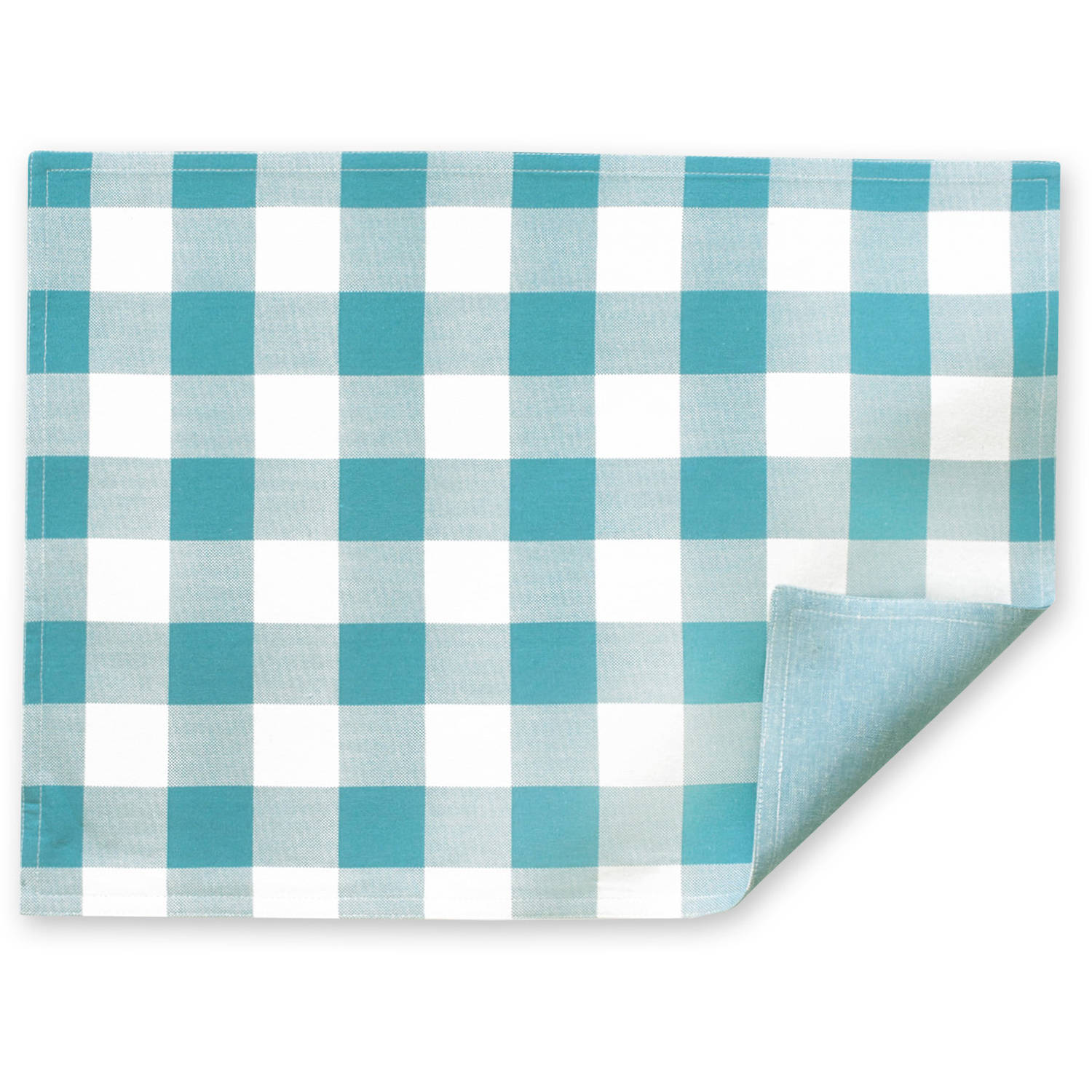 The Pioneer Woman Charming Check Placemat, Teal