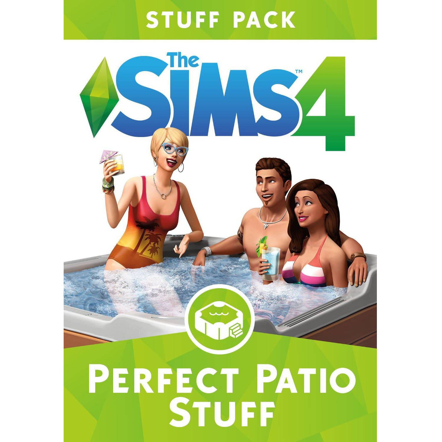 The Sims 4 Perfect Patio Stuff Pack (Digital Code) Electronic Arts