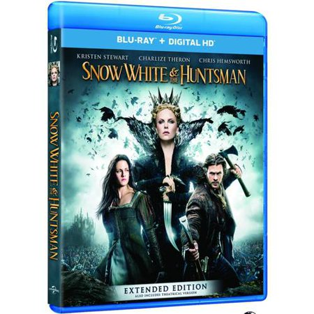 Snow White   The Huntsman  Blu Ray   Digital Hd   With Instawatch   Anamorphic Widescreen