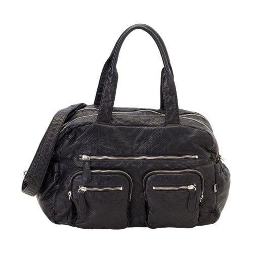 OiOi Carry All Diaper Bag - Black Lizard