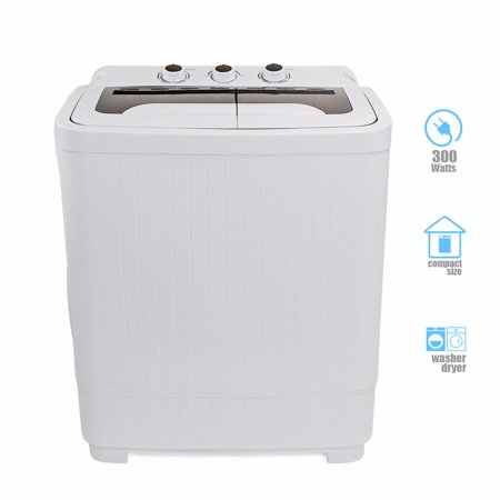 Ensue 9lb Mini Washer Spin Dryer Portable Compact Laundry Combo Rv