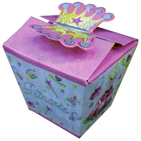 Princess Party Favor Boxes - Strawberry Shortcake Favor Boxes