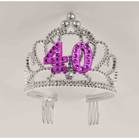 40th Birthday Princess Tiara Crown Party Princess Plastic Tiara