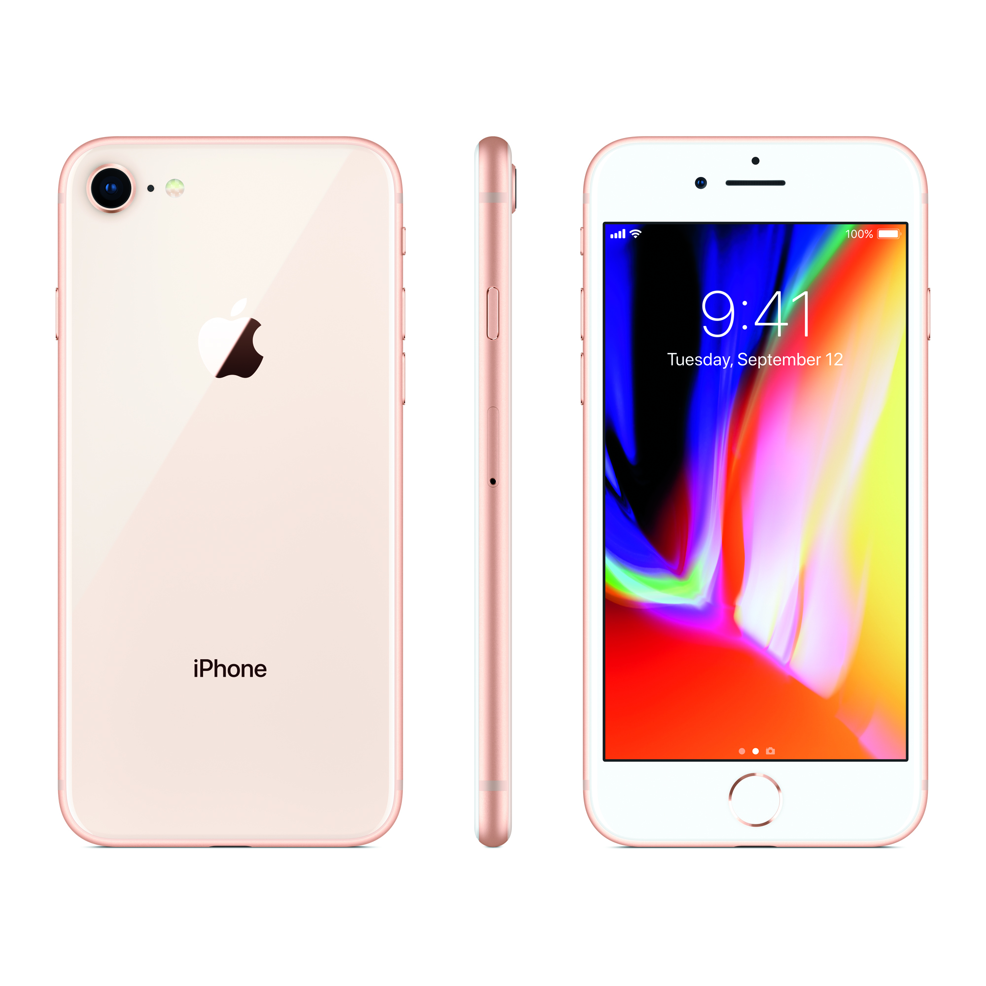 Total Wireless Apple iPhone 8 with 64GB Prepaid Smartphone, Gold