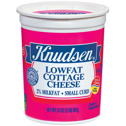 Knudsen Small Curd Lowfat Cottage Cheese, 32 oz