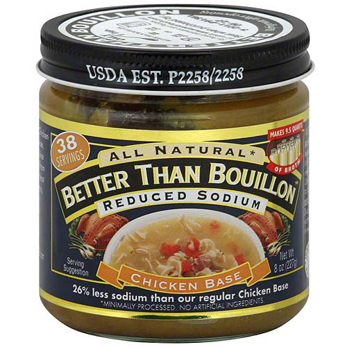 Superior Touch Chicken Base Better Than Bouillon, 8 oz (Pack of 6)