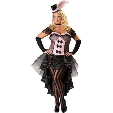 Burlesque Babe Adult Halloween Costume - One Size
