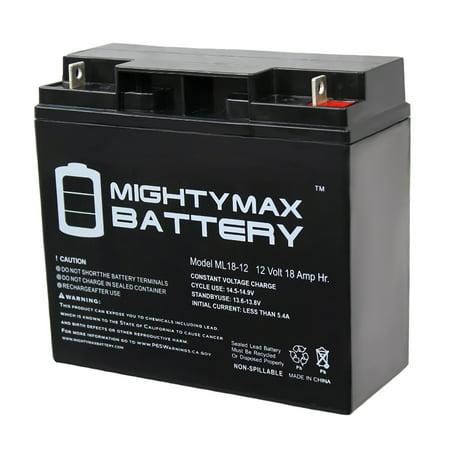 12V 18AH SLA Battery for Stanley Portable Jump Starter J5C09