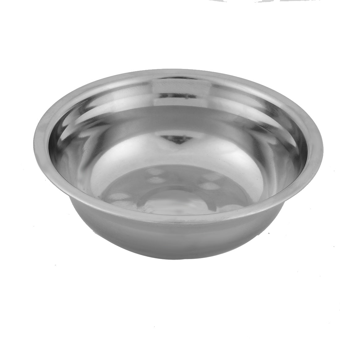 Kitchen Stainless Steel Fruit Soup Rice Dinner Bowl 13cm Diameter Silver Tone - image 2 of 2