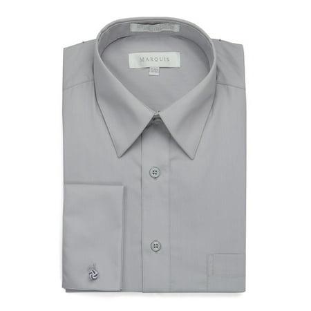 Men's Regular Fit French Cuff Dress Shirt - Cufflinks
