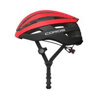 CRSROADLRED Coros SafeSound Road Smart Cycling Helmet with Ear Opening Sound System, SOS Emergency Alert, and LED Tail Light | Bluetooth for Music and Phone Calls | Smart Remote | Lightweight