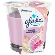 Glade Angel Whispers Candle Air Freshener, 3.4 oz