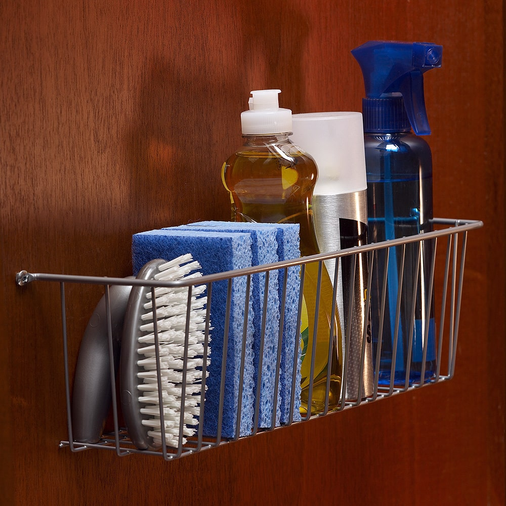 LTL Home Products More Inside Chrome Medium Mountable Wire Basket