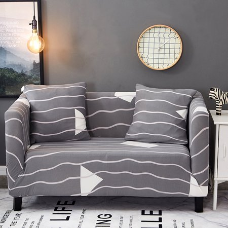 3Pcs/Set 90-180cm double sofa Cover Throw Pillow Cases Cafe Cushion Cover Living Room Home Decor ()