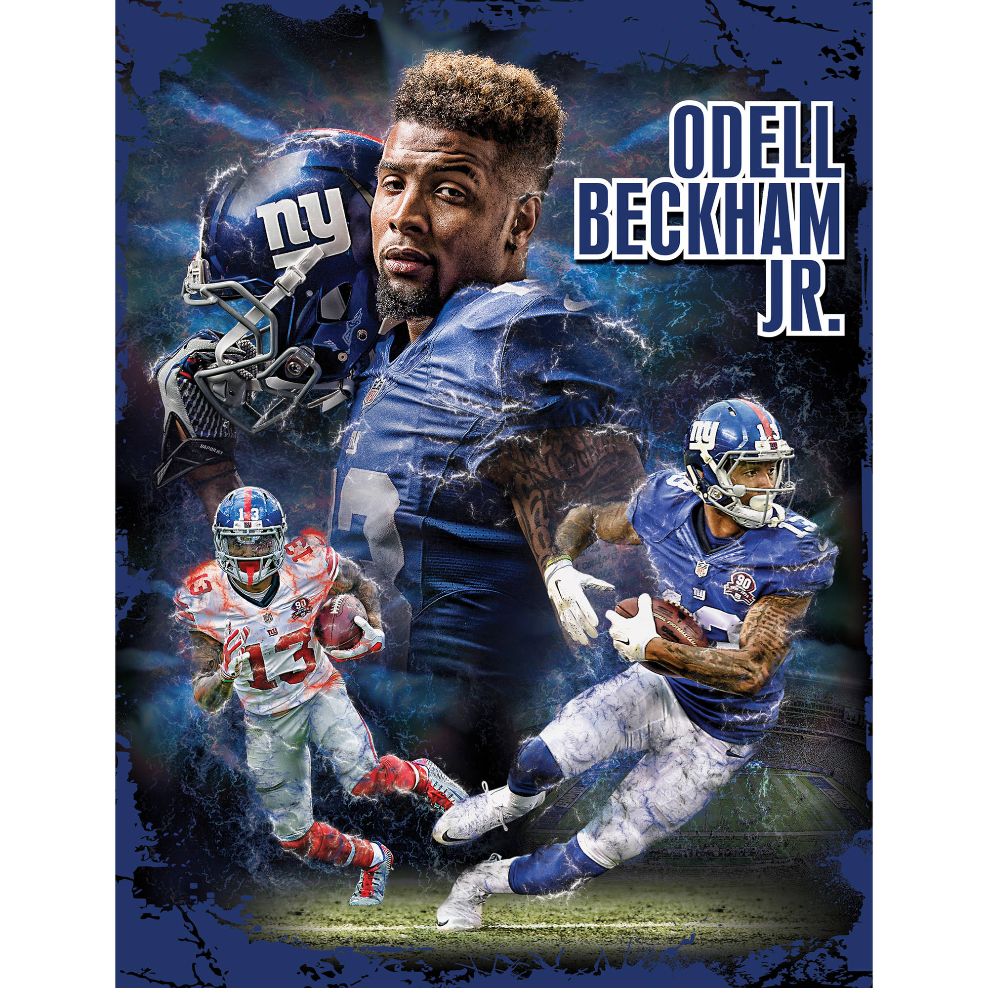 Masterpieces Odell Beckham Jr. New York Giants 100-Piece Puzzle