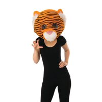 Rubie's Plush Tiger Cosplay Head Halloween Accessory