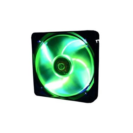 Gelid FN-FW12PL-18 Wing 12 Gamer PC Computer Case Fan - Green LED