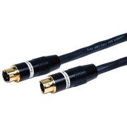 Comprehensive Cable HR Pro Series 4-Pin Plug to Jack S-Video Cable, 25'