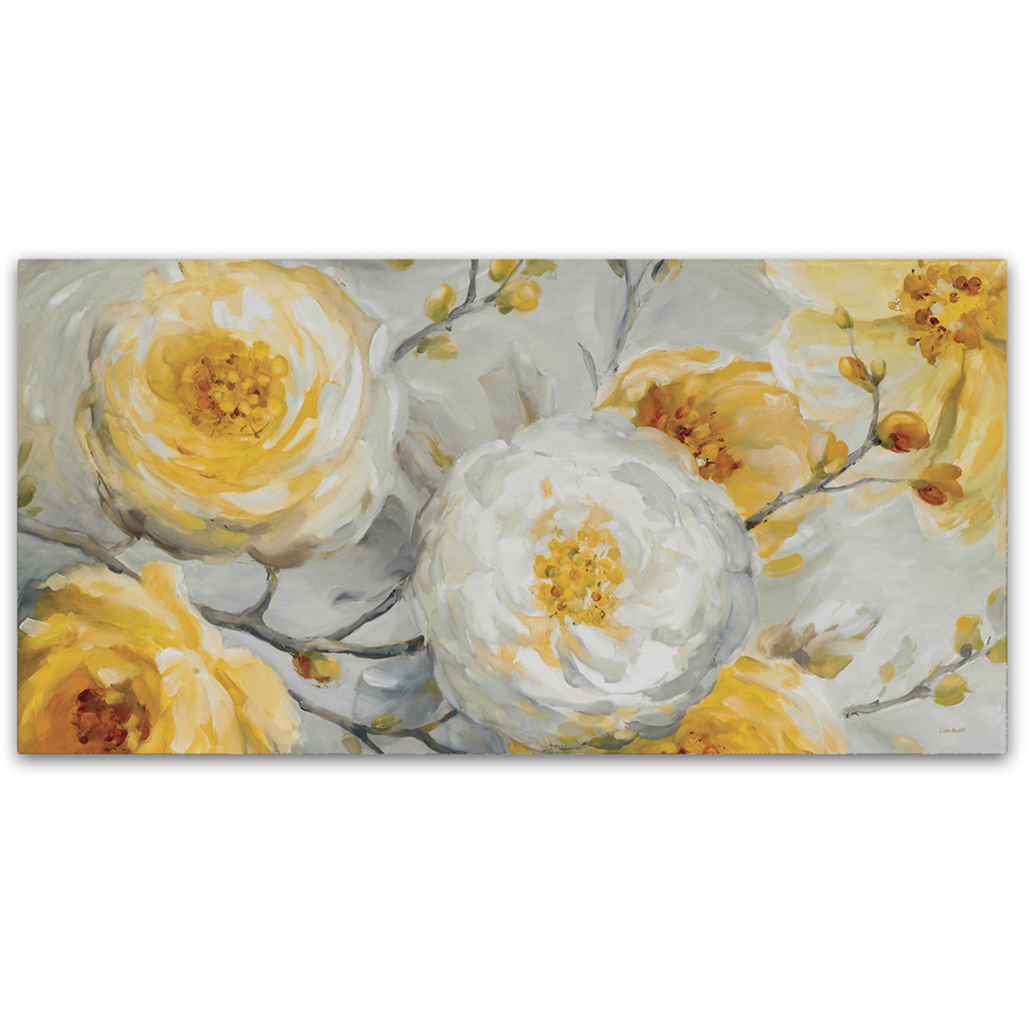 "Trademark Fine Art ""Sunshine"" Canvas Art by Lisa Audit"