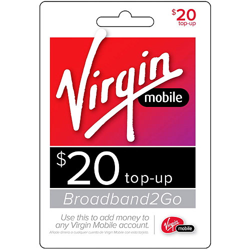 (Email Delivery) Virgin Broadband2Go $20 Topup