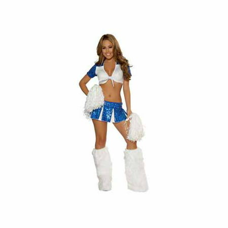 3pc Cheeky Cheerleader Roma Costume 4365RC](Cheerleader Costume Women)