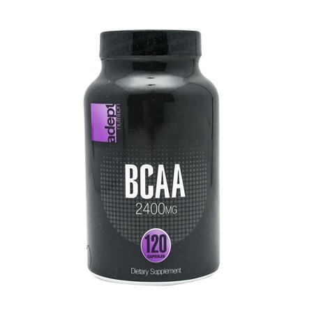 Image of Adept Nutrition BCAA - 120 Capsules