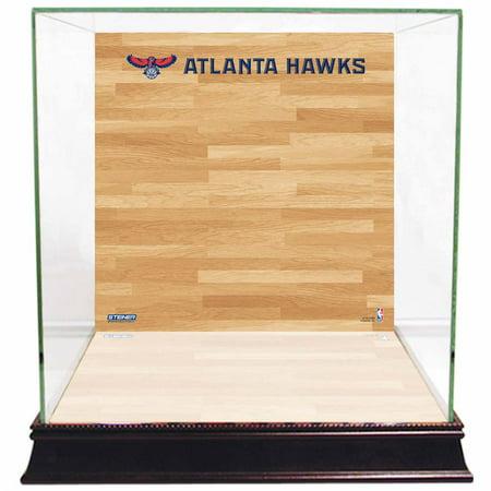 Atlanta Hawks Basketball Court Background Case