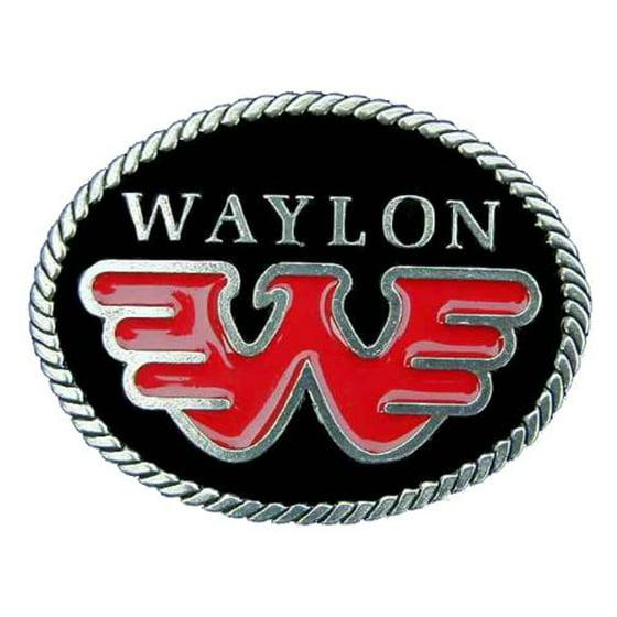 Waylon Jennings Novelty Belt Buckle Walmart