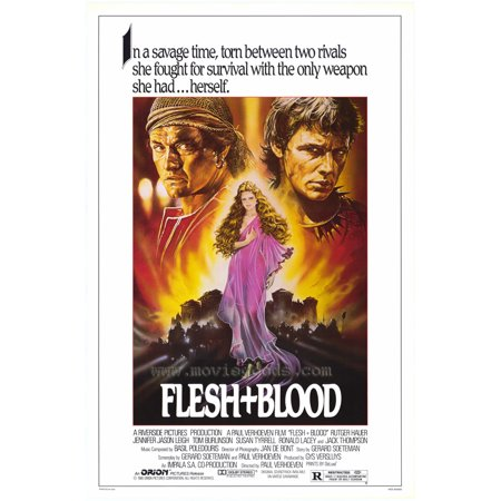 Flesh And Blood Poster Movie  27X40