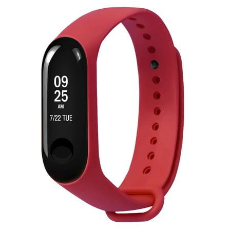 Replacement Strap for Xiaomi Mi 3 TPU Wristband Smart Wrist Strap Replace Accessories