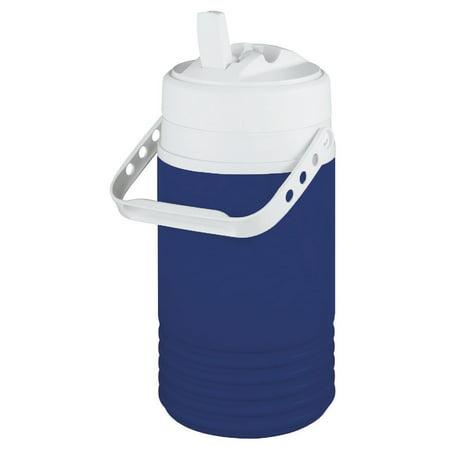 Imperial Blue Small Jug - Igloo Legend Half Gallon Jug Beverage Cooler Blue