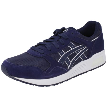 Asics Men's Lyte-Trainer Peacoat / Ankle-High Leather Training Shoes - 11.5M