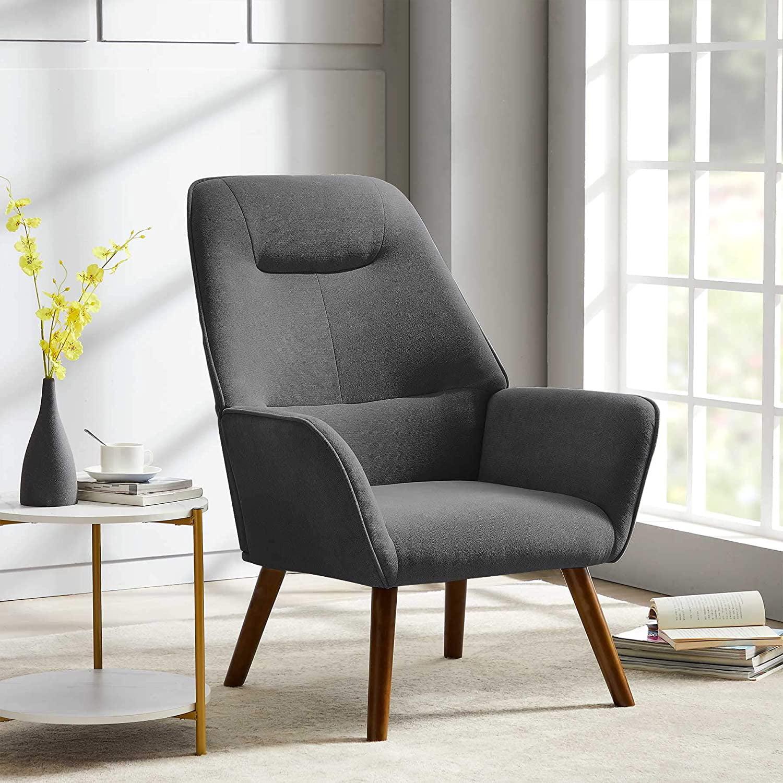 Tribesigns Velvet Accent Chair, Home Office Desk Chair ...