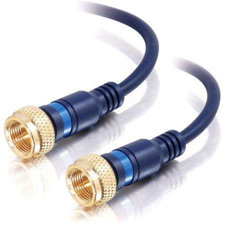 1.5Ft Velocityandtrade; Mini-Coax F-Type Cable