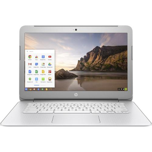 "Refurbished HP 14-AK013DX 14"" LCD 16GB Intel Celeron N2840 2.16GHz 2GB Chrome OS Chromebook"