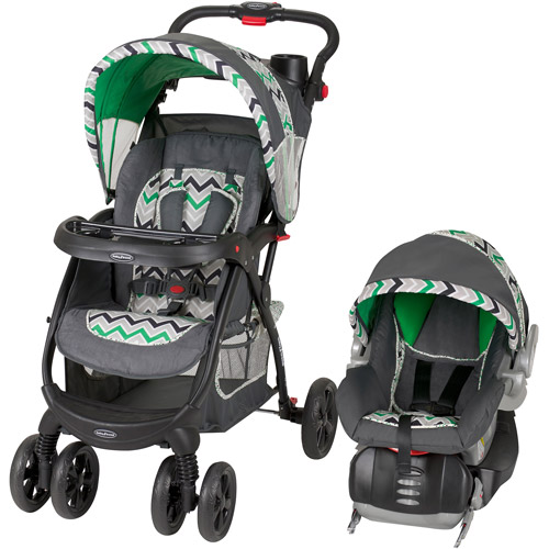 Baby Trend Encore Lite Travel System, Stone Green